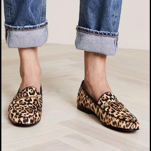 Sam Edelman Lior Leopard Loafer Flats
